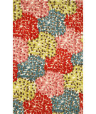 RugStudio presents Trans-Ocean Seville Mum Red 9673/44 Hand-Hooked Area Rug