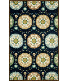 RugStudio presents Trans-Ocean Seville Suzanie Navy 9674/33 Hand-Hooked Area Rug