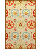 RugStudio presents Trans-Ocean Seville Suzanie Neutral 9674/12 Hand-Hooked Area Rug