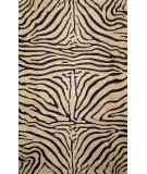 RugStudio presents Rugstudio Sample Sale 102352R Neutral 9627/12 Hand-Hooked Area Rug