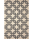 RugStudio presents Trans-Ocean Spello Chains Black 2018/48 Hand-Hooked Area Rug
