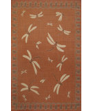 RugStudio presents Trans-Ocean Terrace Dragon Fly Terracotta 1746/94 Woven Area Rug
