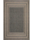 RugStudio presents Trans-Ocean Terrace Etched Border Silver 1736/68 Woven Area Rug