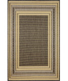 RugStudio presents Trans-Ocean Terrace Etched Border Yellow 1736/59 Woven Area Rug