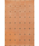 RugStudio presents Trans-Ocean Terrace Tile Terracotta 1744/64 Woven Area Rug