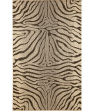 RugStudio presents Trans-Ocean Terrace Zebra Charcoal 1712/67 Woven Area Rug