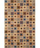 RugStudio presents Trans-Ocean Amalfi Square in Square Blue 1966-33 Hand-Tufted, Good Quality Area Rug