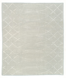 RugStudio presents Tufenkian Shakti Arching Lattice Ice Hand-Knotted, Good Quality Area Rug