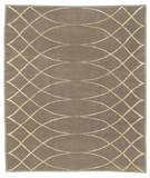 RugStudio presents Tufenkian Shakti Arching Lattice Smokey Topaz Hand-Knotted, Good Quality Area Rug