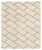 RugStudio presents Tufenkian Lama Archloop Yellow Area Rug