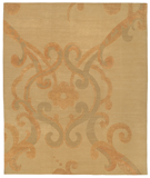 RugStudio presents Tufenkian Shakti Assumed Arabesque Brulee Hand-Knotted, Good Quality Area Rug