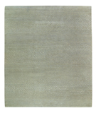 RugStudio presents Tufenkian Timpa Aurora Silver Hand-Knotted, Good Quality Area Rug