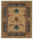 RugStudio presents Tufenkian Setana Big Donegal Tiffany Hand-Knotted, Good Quality Area Rug