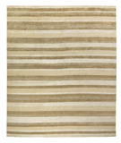 RugStudio presents Tufenkian Timpa Boardwalk White Hand-Knotted, Good Quality Area Rug