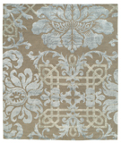 RugStudio presents Tufenkian Timpa Brocade Camelot Hand-Knotted, Good Quality Area Rug