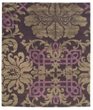 RugStudio presents Tufenkian Timpa Brocade Emperor Hand-Knotted, Good Quality Area Rug