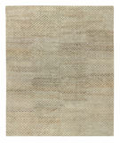 RugStudio presents Tufenkian Timpa Bubbles Brown Rice Hand-Knotted, Good Quality Area Rug