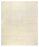 RugStudio presents Tufenkian Timpa Bubbles White Hand-Knotted, Good Quality Area Rug