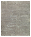 RugStudio presents Tufenkian Timpa Burlap Silver Hand-Knotted, Good Quality Area Rug