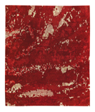 RugStudio presents Tufenkian Shakti Butterfly Ruby Hand-Knotted, Good Quality Area Rug