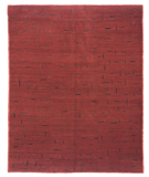 RugStudio presents Tufenkian Shakti Chit Chat Lipstick Hand-Knotted, Good Quality Area Rug