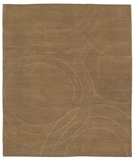 RugStudio presents Tufenkian Shakti Cirque Algae Hand-Knotted, Good Quality Area Rug