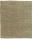 RugStudio presents Tufenkian Shakti Cirque Seaweed Hand-Knotted, Good Quality Area Rug