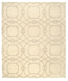 RugStudio presents Tufenkian Shakti Cloister Snowstorm Hand-Knotted, Good Quality Area Rug