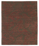 RugStudio presents Tufenkian Shakti Cloud Nine Cherry Bark Hand-Knotted, Good Quality Area Rug