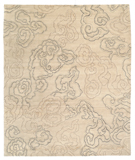 RugStudio presents Tufenkian Shakti Cloud Nine Silver Pearl Hand-Knotted, Good Quality Area Rug