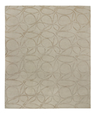RugStudio presents Tufenkian Shakti Clover Loop Haze Hand-Knotted, Good Quality Area Rug