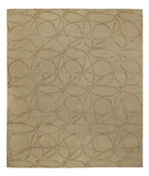 RugStudio presents Tufenkian Shakti Clover Loop Honey Hand-Knotted, Good Quality Area Rug