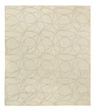 RugStudio presents Tufenkian Shakti Clover Loop Marzipan Hand-Knotted, Good Quality Area Rug