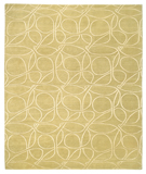 RugStudio presents Tufenkian Shakti Clover Loop Matcha Hand-Knotted, Good Quality Area Rug