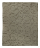 RugStudio presents Tufenkian Shakti Clover Loop Otter Hand-Knotted, Good Quality Area Rug