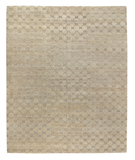 RugStudio presents Tufenkian Timpa Cobblestone Brown Rice Hand-Knotted, Good Quality Area Rug