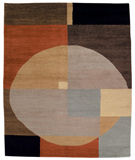 RugStudio presents Tufenkian Setana Compass Elements Hand-Knotted, Good Quality Area Rug