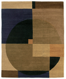 RugStudio presents Tufenkian Setana Compass Grapevine Hand-Knotted, Good Quality Area Rug
