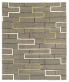 RugStudio presents Tufenkian Lama Construct Green Area Rug