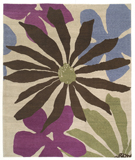 RugStudio presents Tufenkian Lama Daisy Mae Grape Crush Area Rug