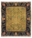 RugStudio presents Tufenkian Setana Donegal Branches Umber Earth Hand-Knotted, Best Quality Area Rug