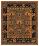 RugStudio presents Tufenkian Setana Donegal Ii Nocturne Hand-Knotted, Best Quality Area Rug