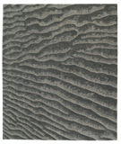 RugStudio presents Tufenkian Timpa Dunes Peppercorn Hand-Knotted, Good Quality Area Rug