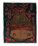 RugStudio presents Tufenkian Setana Fish Teal Area Rug