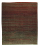 RugStudio presents Tufenkian Shakti Flip Side Charcoal Rust Area Rug