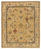 RugStudio presents Tufenkian Tab Herat Canary Song Sheared Area Rug