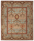 RugStudio presents Tufenkian Kotana Inverness Blue Quartz Area Rug