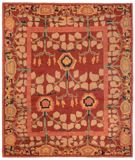 RugStudio presents Tufenkian Kotana Inverness Tamarind Area Rug