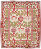 RugStudio presents Tufenkian Kotana Inverness White Rose Area Rug