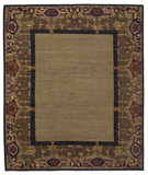 RugStudio presents Tufenkian Kotana Inverness Border Nocturne Area Rug